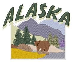 Alaska embroidery design