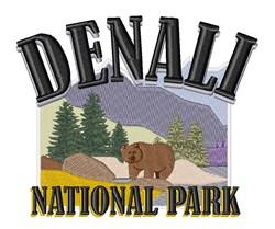 Denali Park embroidery design