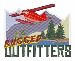 Rugged Outfitters embroidery design