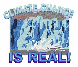 Climate Change embroidery design