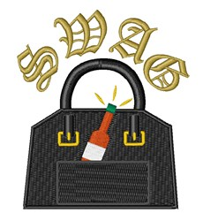 Hot Sauce Swag embroidery design