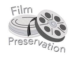 Film Preservation embroidery design