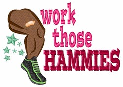 Work Hammies embroidery design