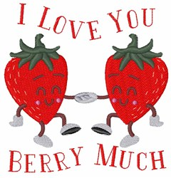 Berry Much embroidery design