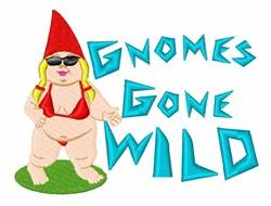 Gnome Wild embroidery design