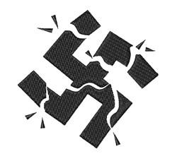 Broken Swastika embroidery design