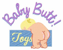 Baby Butt embroidery design