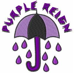 Purple Reign embroidery design