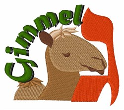 Gimmel embroidery design
