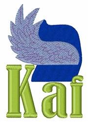 Kai embroidery design