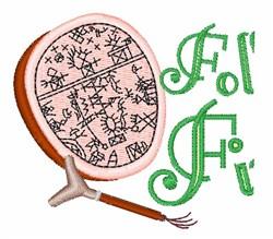 Fol Fi embroidery design