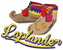 Laplander embroidery design