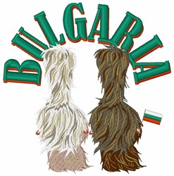 Bulgaria embroidery design