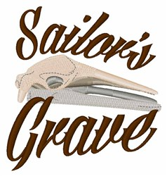 Sailors Grave embroidery design