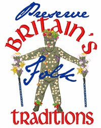 Britains Traditions embroidery design