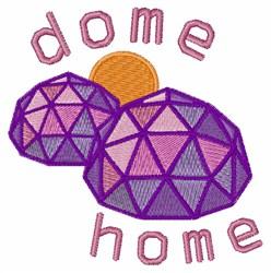 Dome Home embroidery design