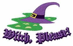 Witch Please embroidery design