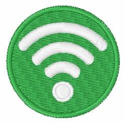 WiFi Logo embroidery design