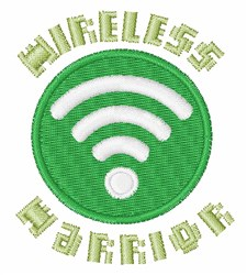 Wireless Warrior embroidery design