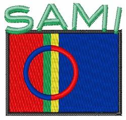Sami embroidery design