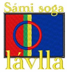 Sami Soga Lavlla embroidery design