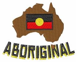 Aboriginal embroidery design