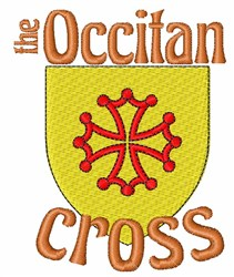 Occitan Cross embroidery design