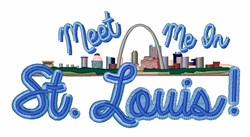 In St Louis embroidery design