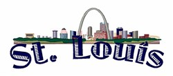 St Louis embroidery design