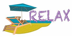 Relax Chair embroidery design