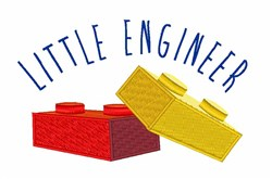 Little Engineer embroidery design