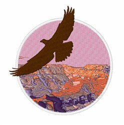 Grand Canyon embroidery design