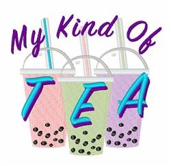 My Kind Tea embroidery design