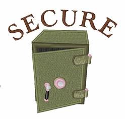 Safe Secure embroidery design