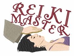 Reiki Master embroidery design