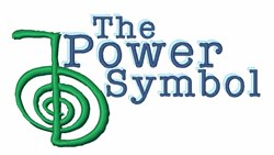 Power Symbol embroidery design