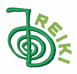 Reiki Symbol embroidery design