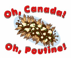 Oh Poutine embroidery design