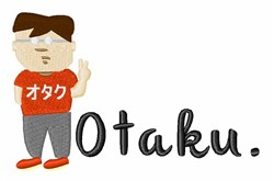 Otaku embroidery design