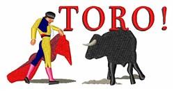 Matador Toro embroidery design