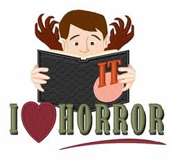 Love Horror embroidery design
