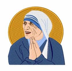 St. Teresa embroidery design