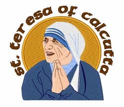 St. Teresa of Calcutta embroidery design