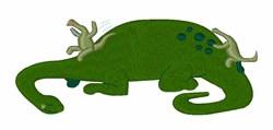 Brontosaurus Slide embroidery design