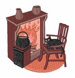 Hearth embroidery design