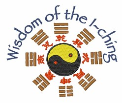 I-Ching Wisdom embroidery design