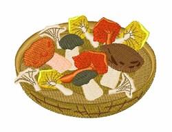Mushroom Forage embroidery design