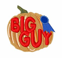 Big Guy embroidery design