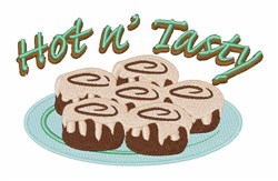 Hot N Tasty embroidery design