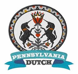 Pennsylvania Dutch embroidery design